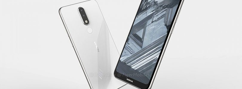 Android One Nokia 5.1 Plus with notched display leaks in new renders