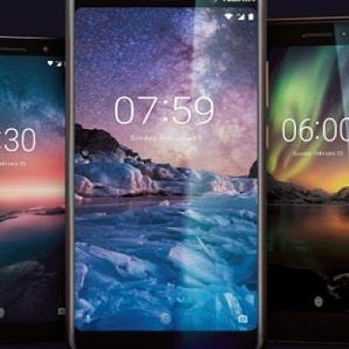 Nokia 6.1, Nokia 7, & Nokia 8 Sirocco get Android P beta in China