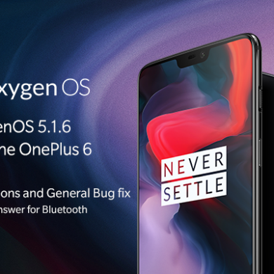OxygenOS 5.1.6 for the OnePlus 6 brings selfie portrait mode, battery percent in status bar, and more