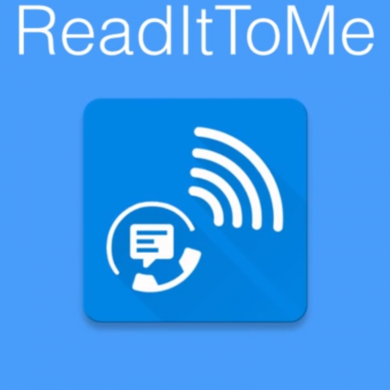 ReadItToMe reads and lets you respond by voice to your Whatsapp, Telegram, and Hangouts messages