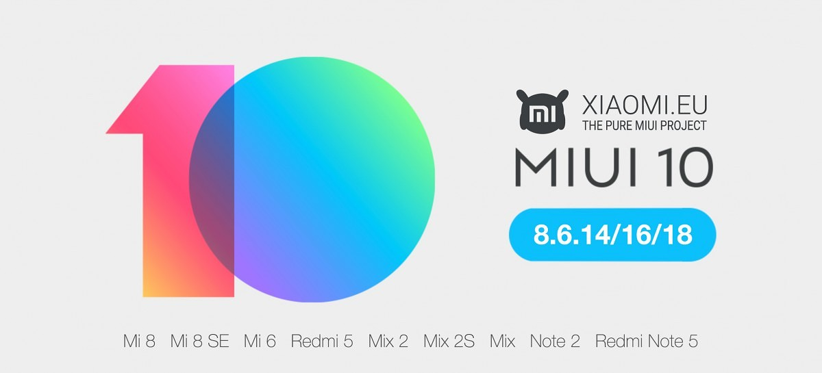 Xiaomi EU releases unofficial MIUI 10 for Xiaomi devices