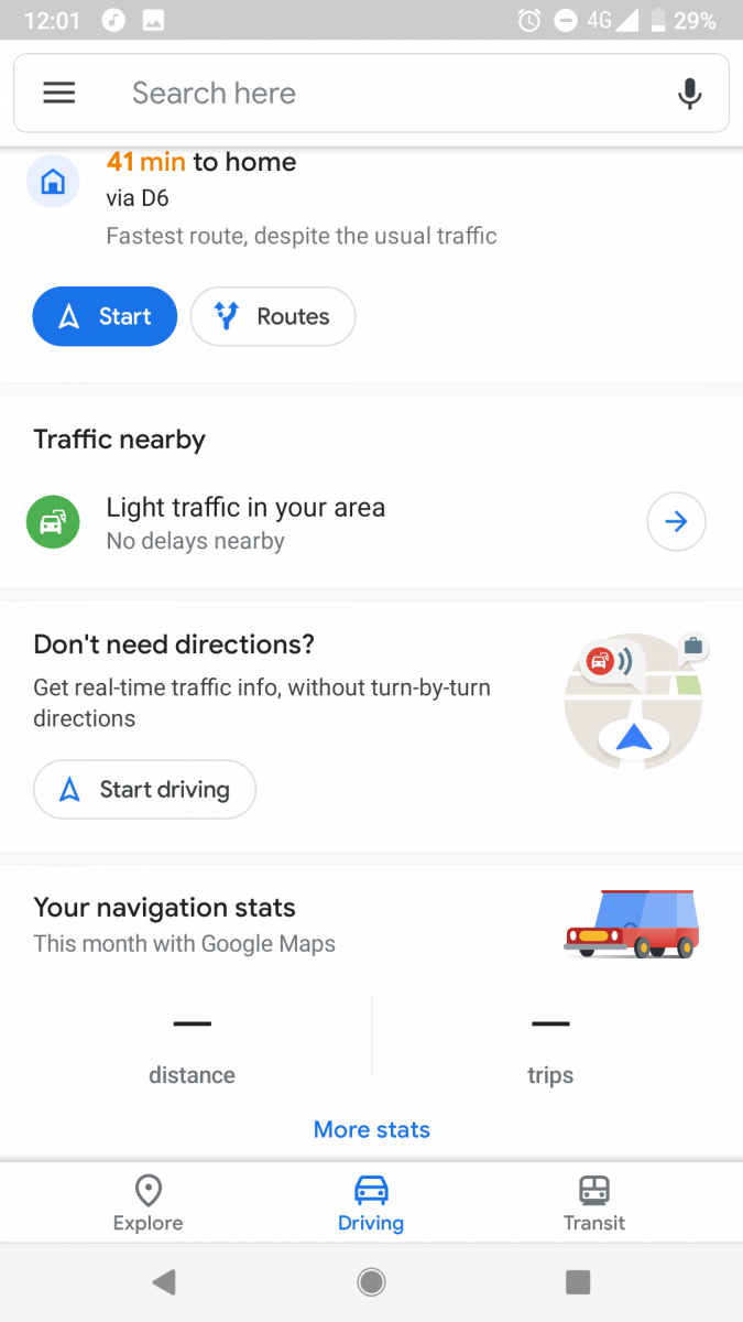 Update: Wider roll-out] Google Maps with updated Material Design UI