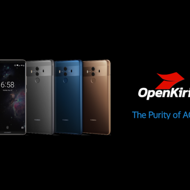 OpenKirin's ROMs now support Honor 8, Honor Note 8, Huawei P9/P9 Plus, and Huawei Mate 8