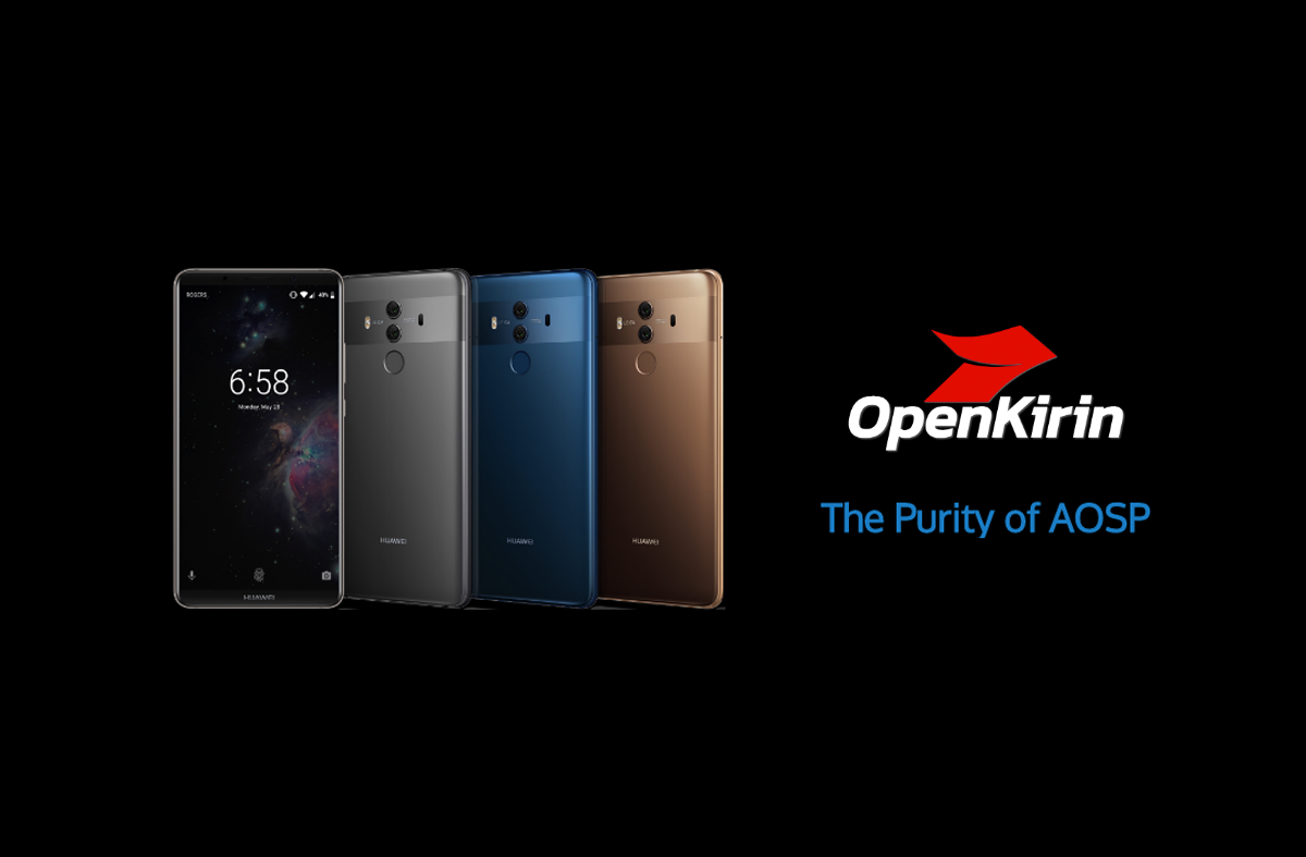 OpenKirin's ROMs now support Honor 8, Honor Note 8, Huawei P9/P9