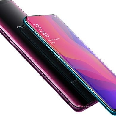 The Lamborghini Oppo Find X is fully charged in 35 minutes with Super VOOC
