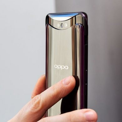 Oppo Find X has no notch, slim bezels, and a pop-up camera