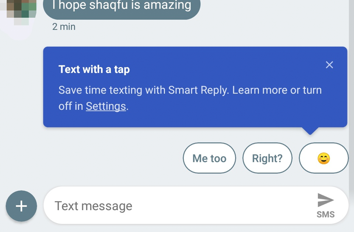 Smart Reply in Android Messages rolling out to some non-Project Fi users