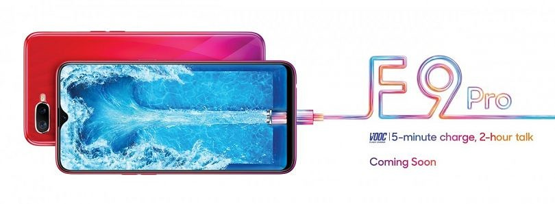 Oppo F9 Pro teaser shows off display notch and VOOC Flash Charging