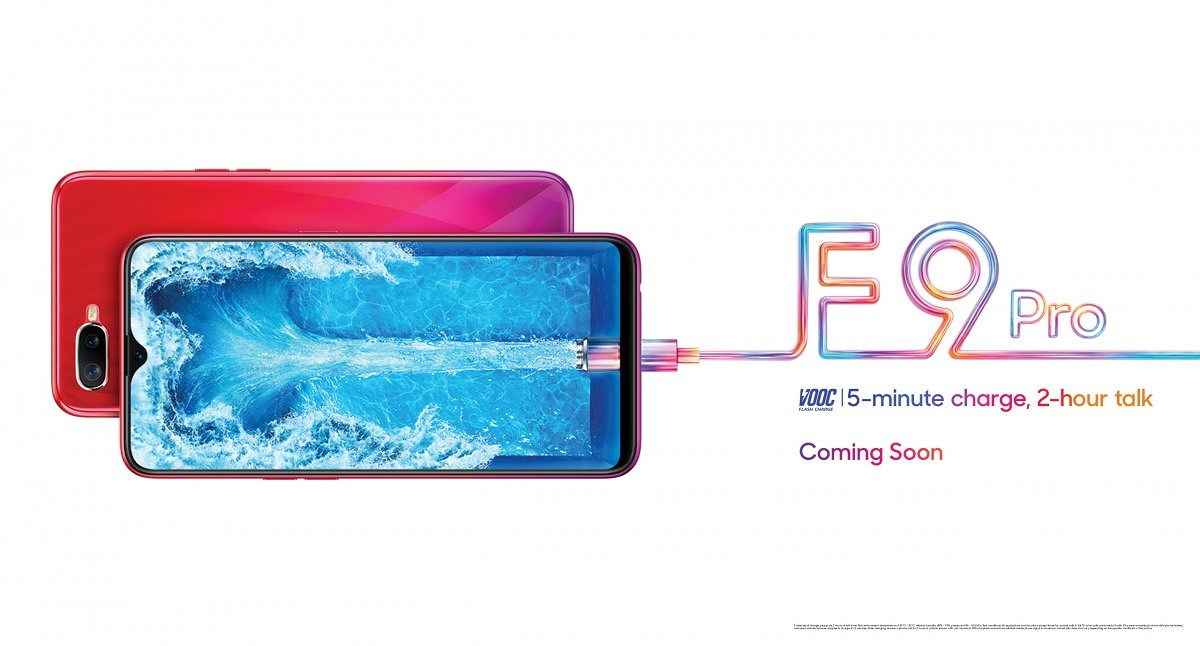 Oppo F9 Pro teaser shows off display notch and VOOC Flash