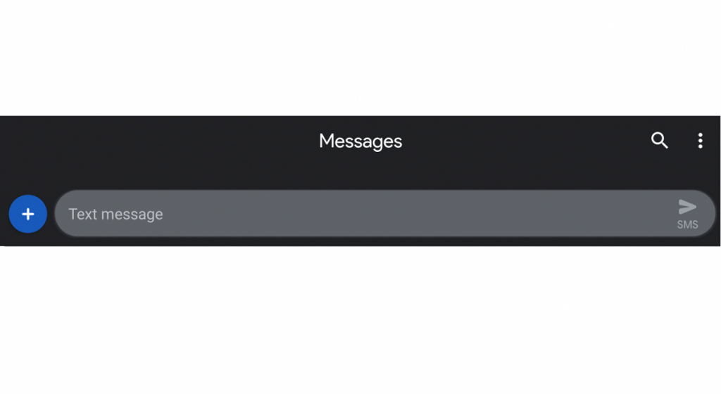 Android Messages 3 4 has a working Dark Theme and preps