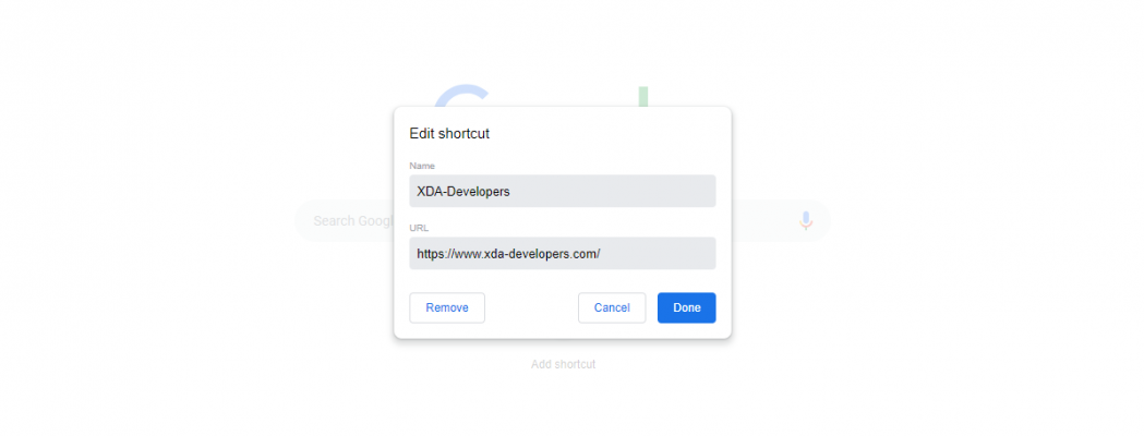 Google Chrome's new tab page will soon let you customize shortcuts