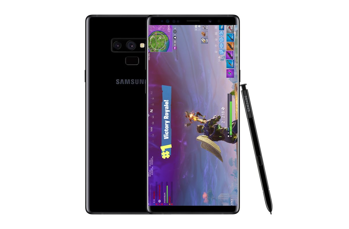 Source: Samsung Galaxy Note 9 to launch with Fortnite Mobile