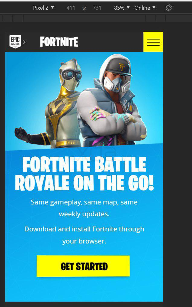 Fortnite Mobile on Android Download Google Play Store
