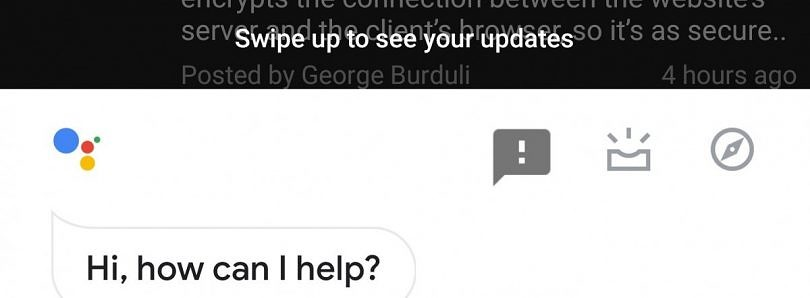 Google tests new way to launch Google Now-like search cards in Google Assistant