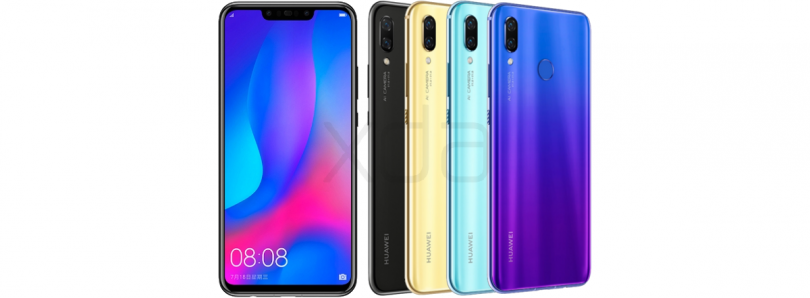 Huawei launches the Huawei Nova 3 and Nova 3i in India