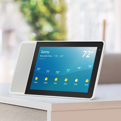 Lenovo Smart Display with Google Assistant now available starting at $199