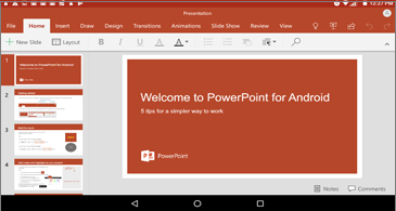 Microsoft Office for Android receives several new features in the