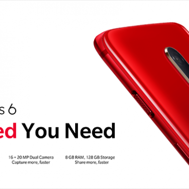 OnePlus 6 Red model with 8GB RAM & 128GB storage announced