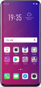 Oppo Find X ColorOS Android 8.1 Oreo