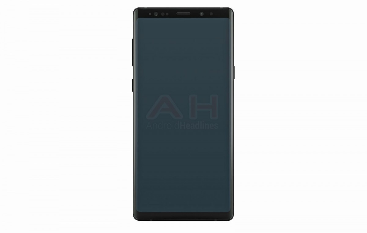 Samsung Galaxy Note 9 render reveals few changes from the