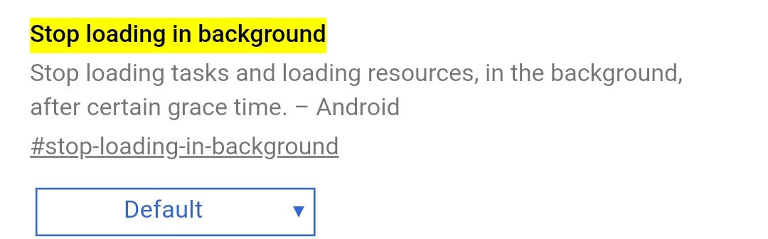 Google Chrome on Android will stop background tabs to improve