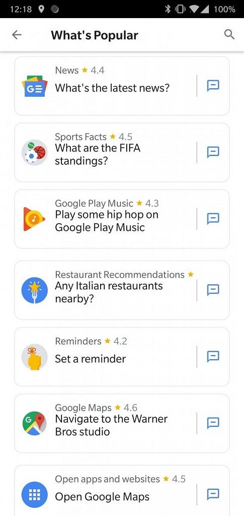Google Assistant Google Now Predictive Search Cards