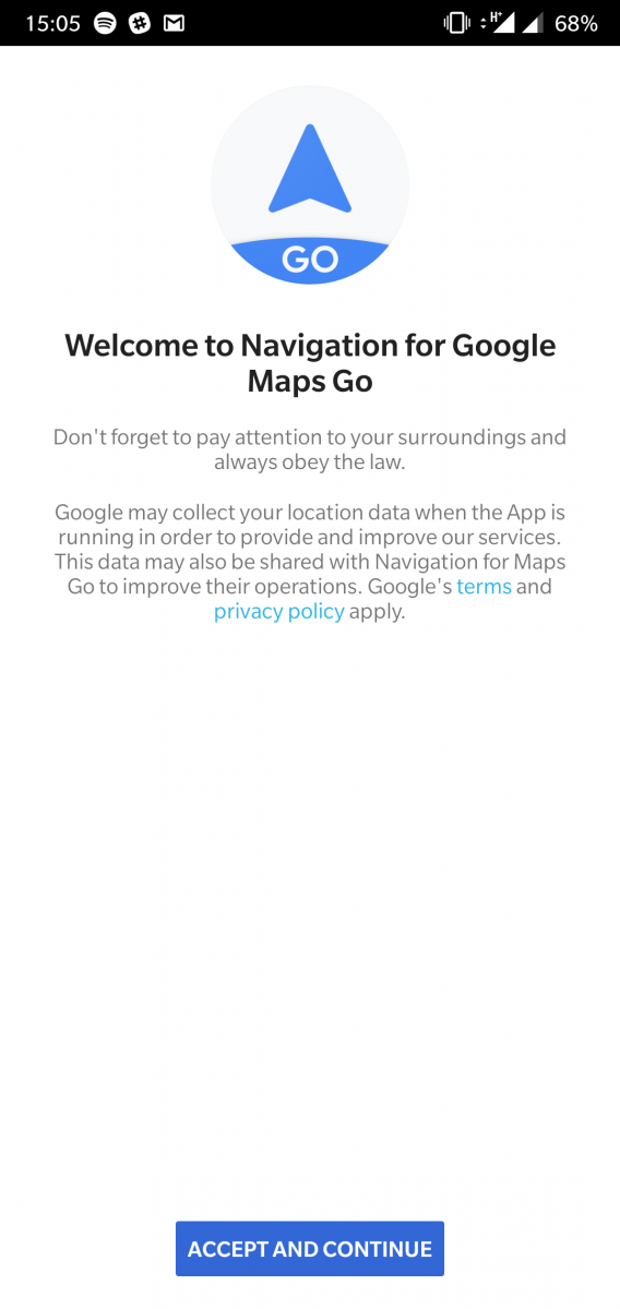 Google Maps Go for Android Go gets proper turn-by-turn