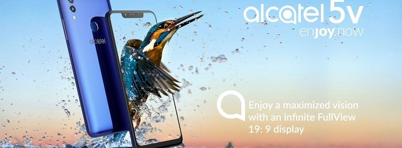 Alcatel 5V launches with 6.2-inch notched display, 4000mAh battery, and Android 8.1 Oreo