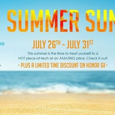 """Honor Kicks Off """"Summer Sun"""" Promotion with Discounted Phones–Save Big on View 10, 7x, and 6x"""