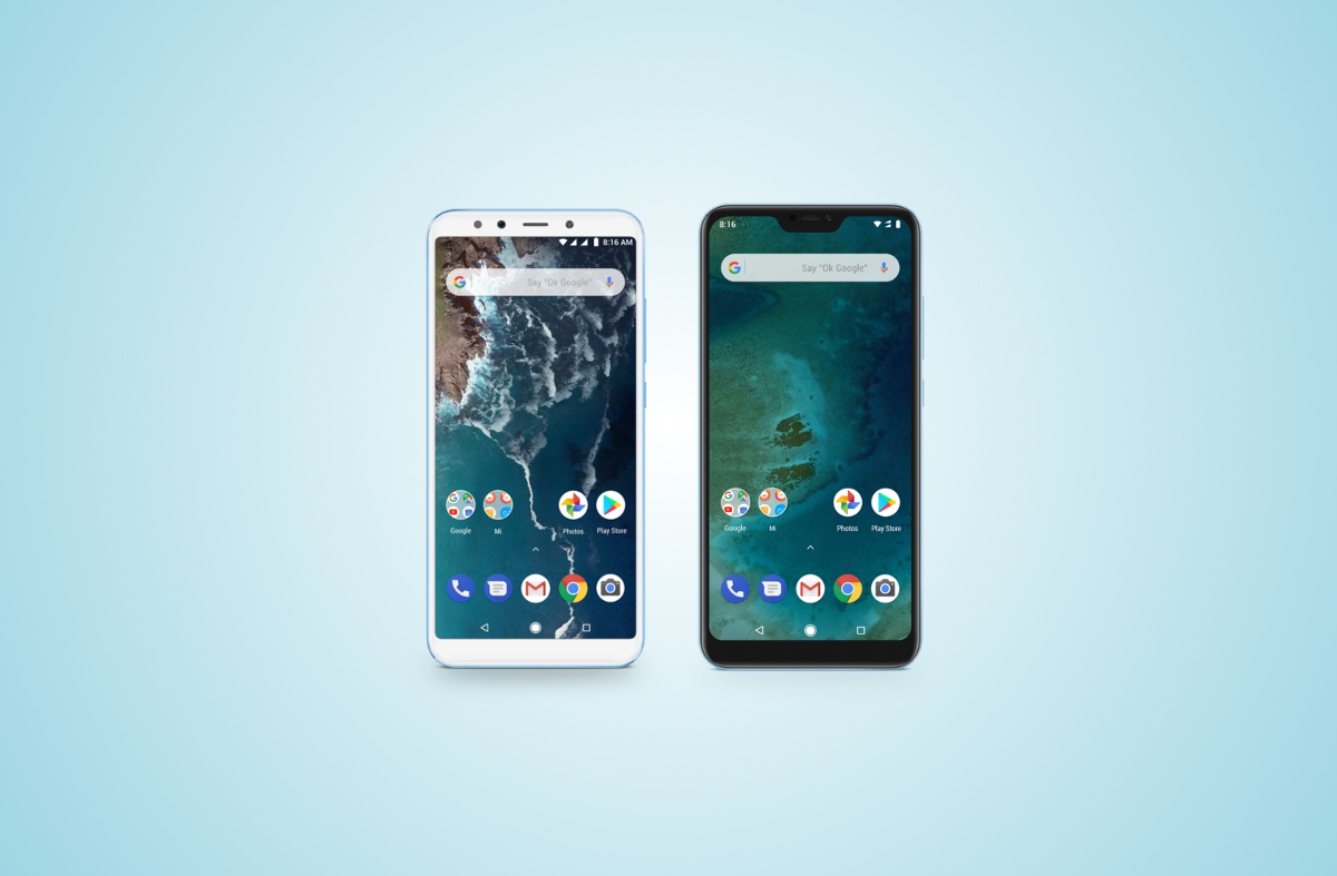 Xiaomi Mi A2 & Xiaomi Mi A2 Lite are the latest Android One