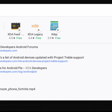 Chrome OS launcher to no longer show Play Store/Web Store apps when searching