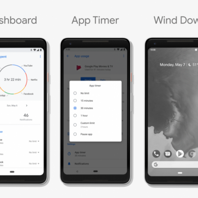 Digital Wellbeing now live for the Google Pixel/Pixel XL & Google Pixel 2/Pixel 2 XL