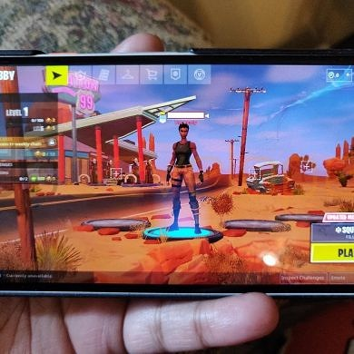 Exclusive: Here's Fortnite Mobile on Android gameplay before the Samsung Galaxy Note 9 launch