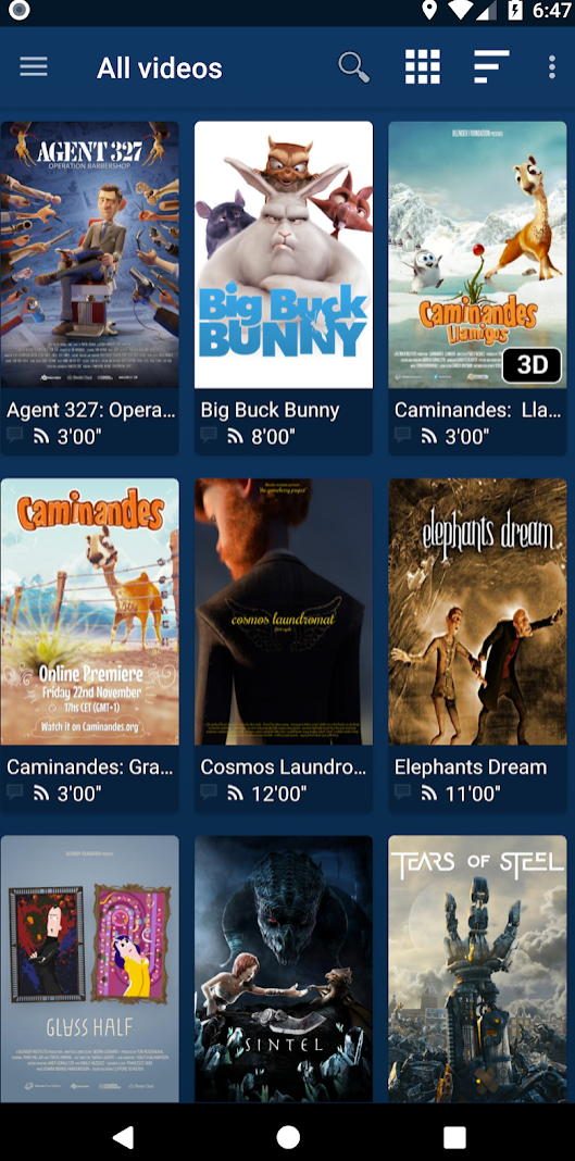 Nova is an open-source video player for phones, tablets, and Android TV
