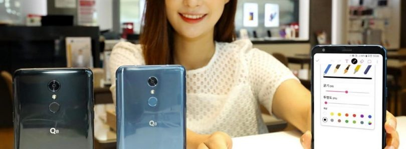 LG Q8 has a 6.2-inch display, stylus, and a recycled name