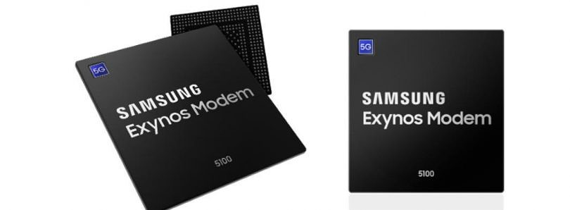 Samsung announces its first 5G modem: the Exynos 5100