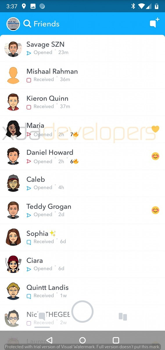 Hands on] Snapchat Alpha is a faster, cleaner version of