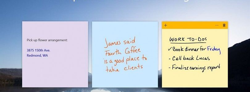Windows 10's Sticky Notes to launch on Android, will sync with PC
