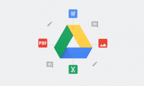 Google Drive 2.19.112 has a dark theme that works with Android Q's system-wide toggle