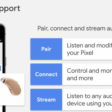 Google plans to add hearing aid streaming support in future versions of Android