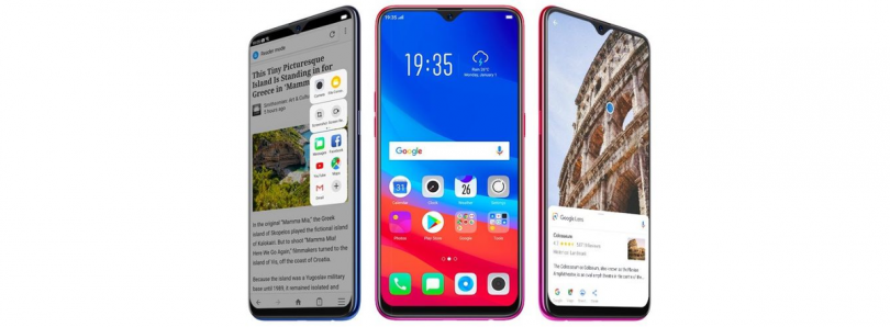 Oppo F9, F9 Pro are now official in India with VOOC Flash Charge and tiny waterdrop notch