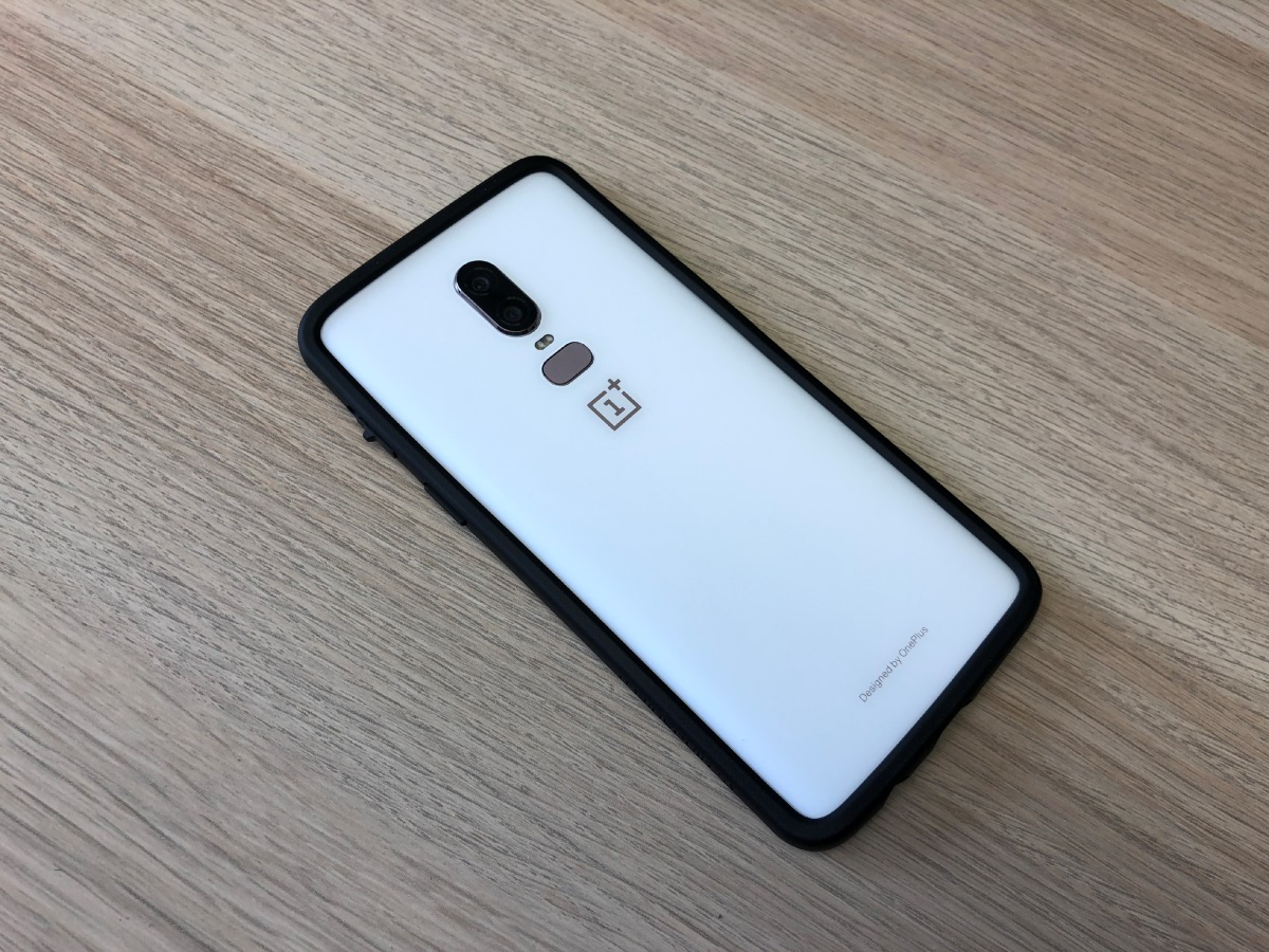 promo code e7906 001d3 Hands-on with the RhinoShield CrashGuard and SolidSuit for the OnePlus 6