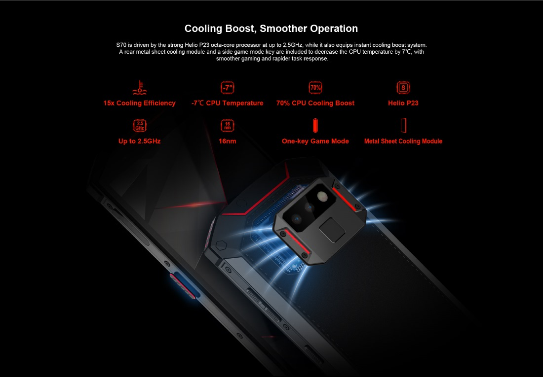 Win a DOOGEE S70 Rugged Gaming Phone [Open to all Countries]