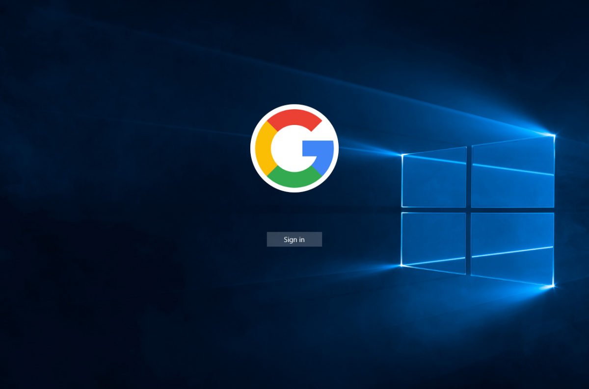 how to change google account in windows 10