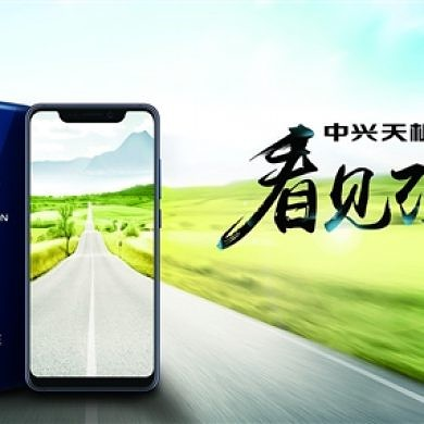 ZTE Axon 9 Pro render shows an iPhone X notch & dual camera setup