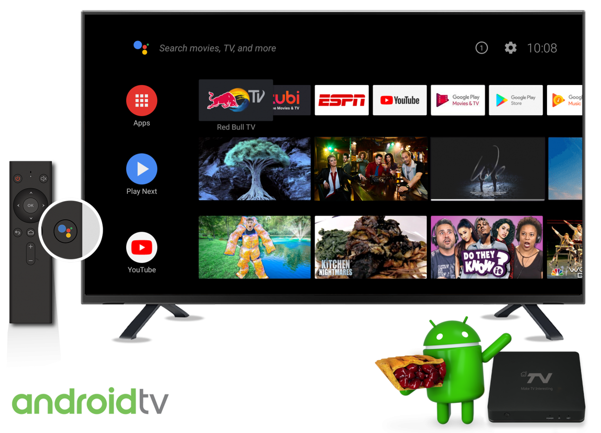 Android TV Set-Top Box running Android Pie shown off at IBC
