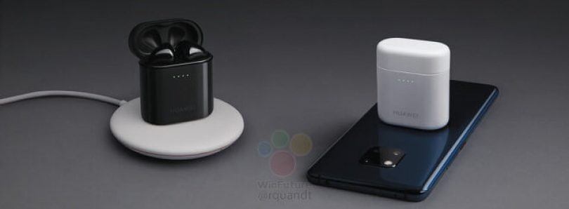 Huawei Mate 20 Pro can wirelessly charge the Freebuds 2 Pro wireless earbuds