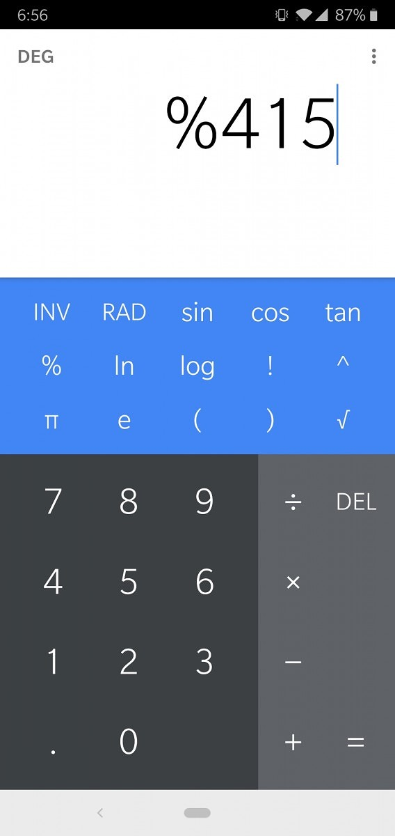 calculator app google