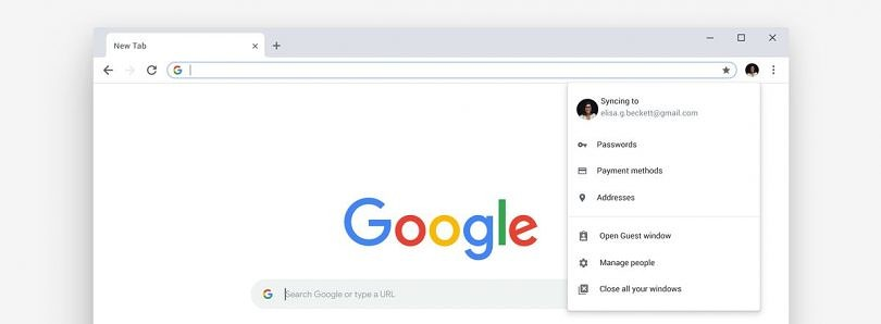 Google Chrome's new Material Design theme rolls out on all platforms
