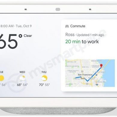 Google Home Hub is Google's Assistant-enabled Smart Speaker with a 7-inch display